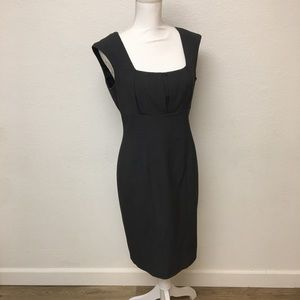 Calvin Klein professional gray sheath dress
